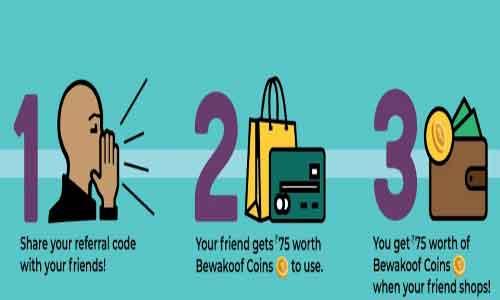 bewakoof-refer-and-earn