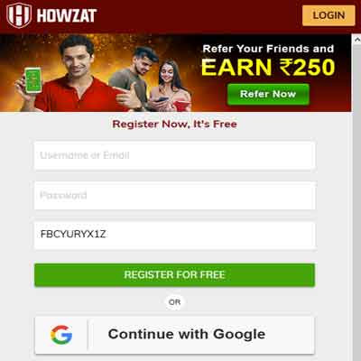 howzat-sign-up-form
