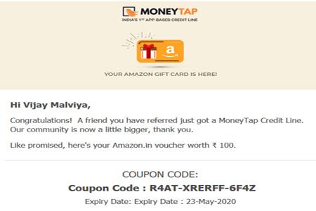 moneytap-reward-proof