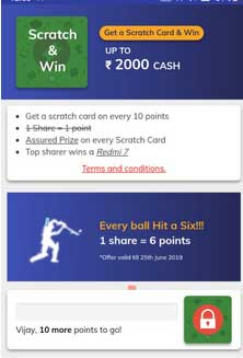 workindia app scratch card paytm cash