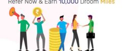 droom refer and earn offer