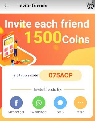 earn money app referral code