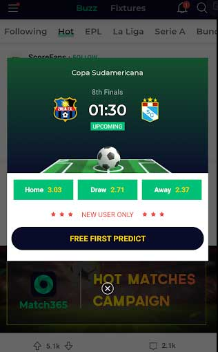 free first predict