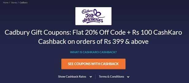cashkaro-cadbury-gift coupons