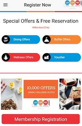 buy membership registration