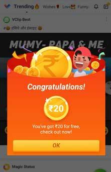 vclip-app-sign-up-bonus