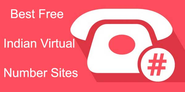 best free indian virtual numbers sites