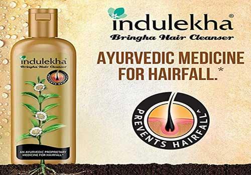 Indulekha Anti Hair Fall Cleanser Bringha Shampoo