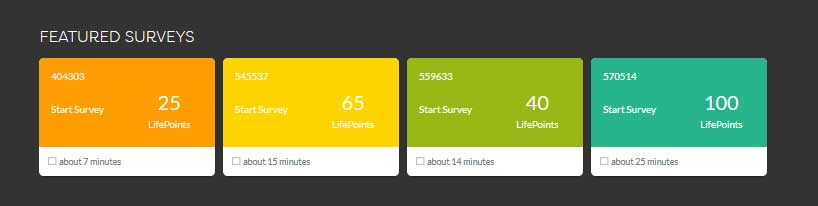 lifepoints panel available surveys