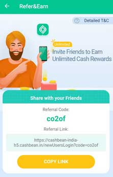 cashbean-app-refer-earn