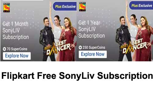 flipkart-sonyliv-premium account subscription