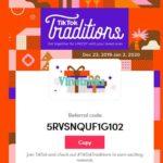 TikTok Referral Code -Win ₹10k Amazon Gift Card in Tiktok Traditions