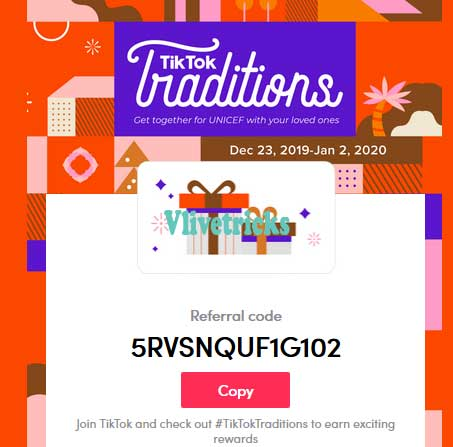 tiktok-referral-code