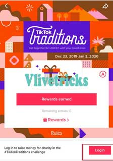 tiktok traditions event