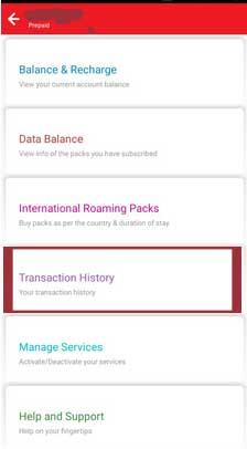 airtel-account-options