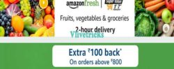 amazon fresh promo code