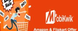 mobikwik amazon flipkart offer
