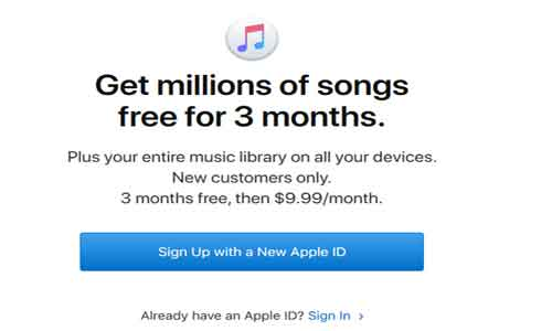 apple music subscription free-trial
