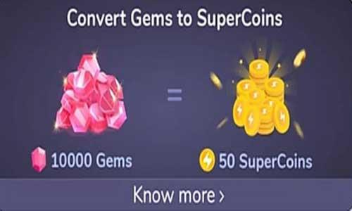 convert flipkart gems