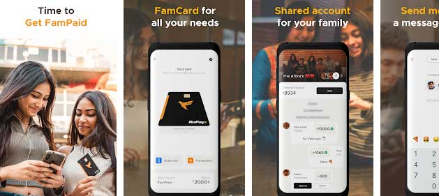paypal latest working fampay rupay card