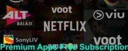 premium apps subscription free