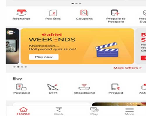 airtel-weekends-homepage banner