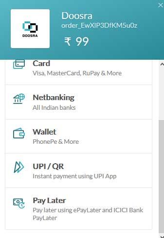 doosra-app-payment