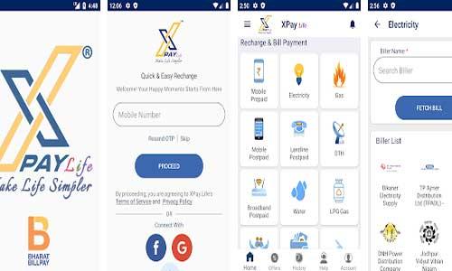 xpay life app screenshots