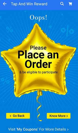 place order for participate