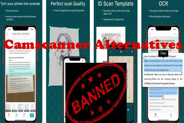 best alternatives of camscanner