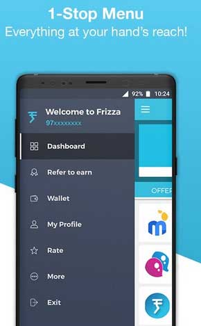 frizza refer and earn