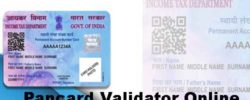 check pancard is valid or not