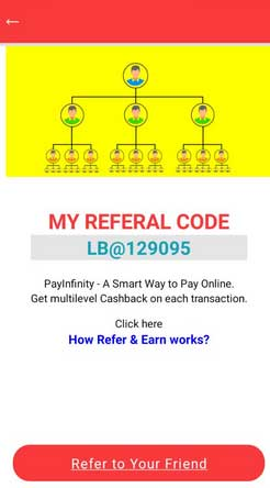 payinfinity referral code