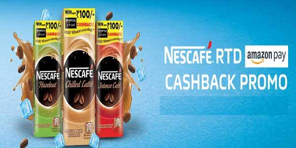 nescafe amazon cashback promo code redeem