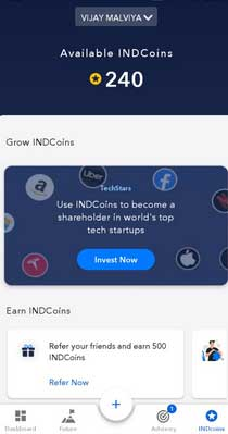 indmoney app refer and earn