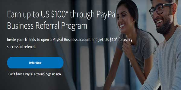 paypal business referral-program