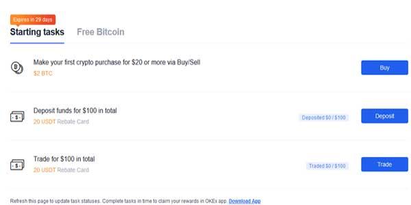 okex wallet earn money