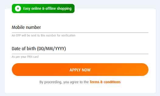 apply online form